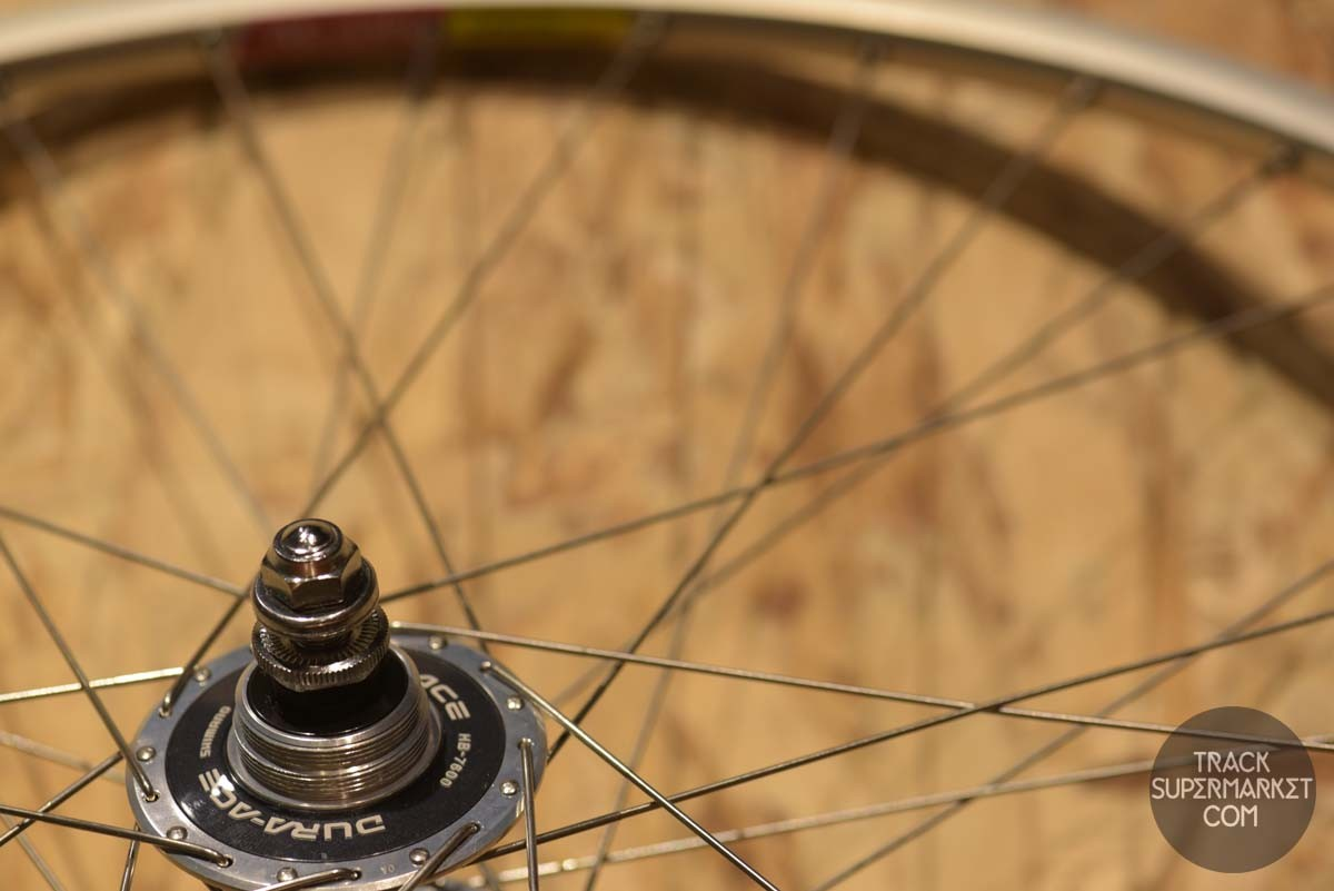 Araya RC-540 Clincher Complete Wheel build - Front+Rear