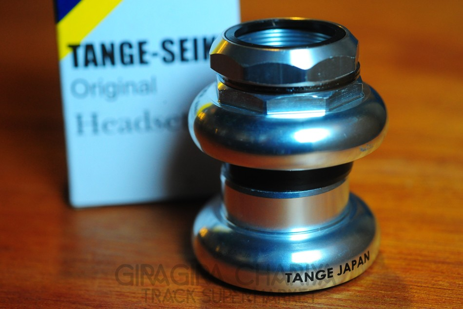 Tange DX Track Bike Headset - Silver