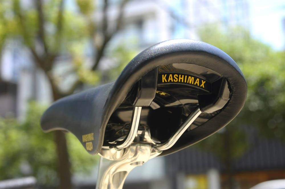 """Midnight"" Kashimax Aero Saddle"