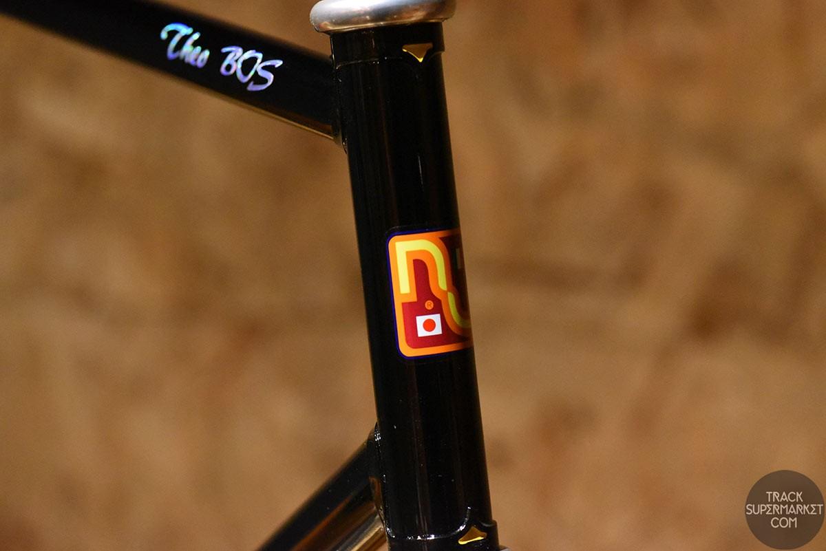 Nagasawa - Black- 57.5 cm - NJS Track Frame (built for Theo Bos)