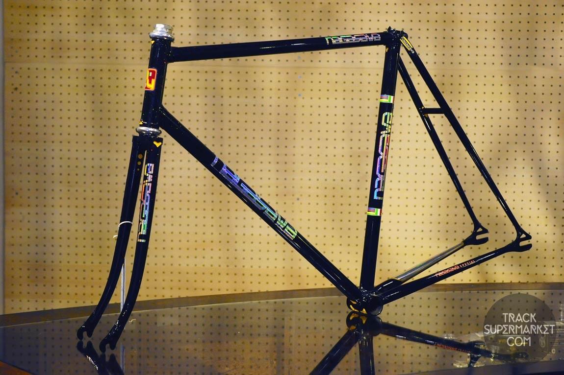 Nagasawa - black w/ flake fade - 55 CM - NJS Track frame