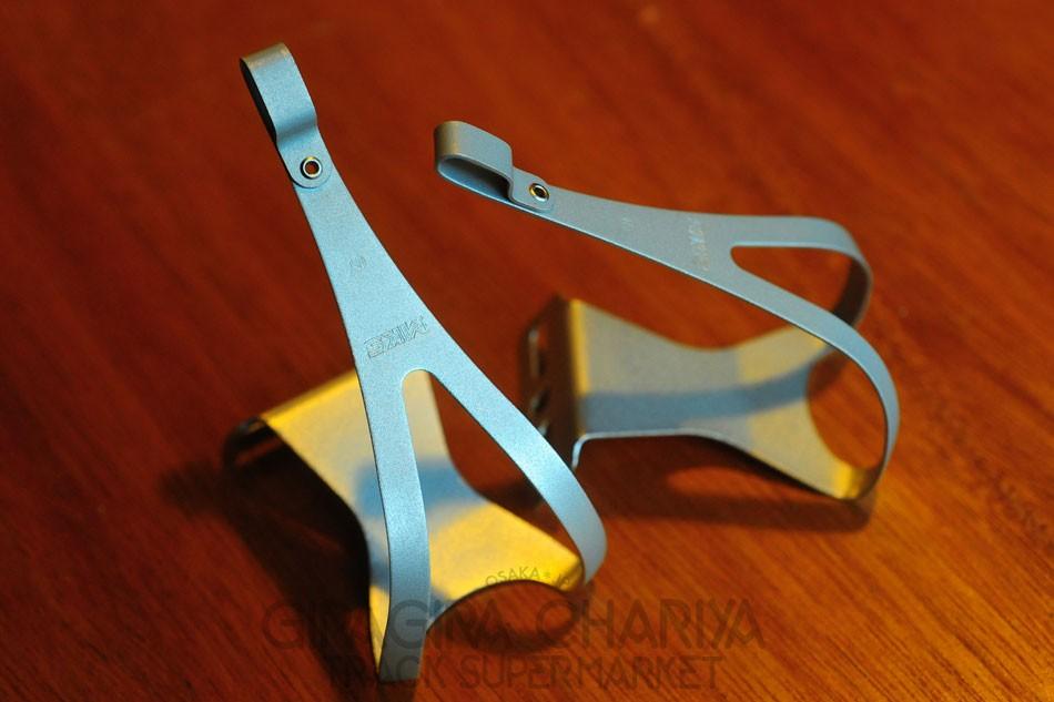 MKS Aluminum Track Pedal Toe Clips (NJS)