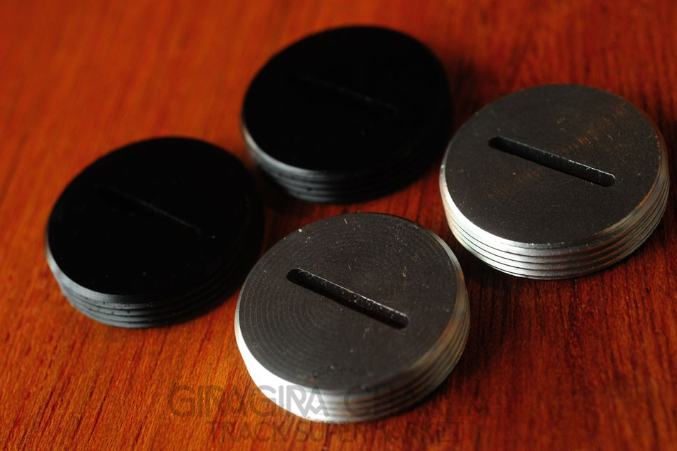 Blue Lug Aluminium Crank Dust Caps