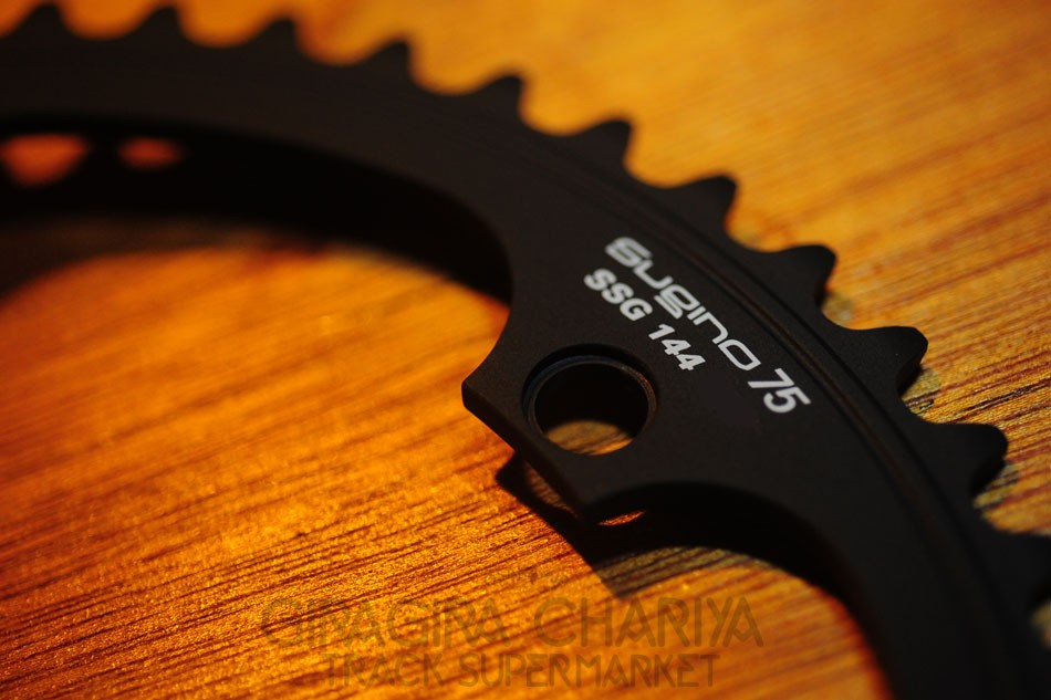 Sugino 75 Track Racing Chainring - Black 50T - SALE!