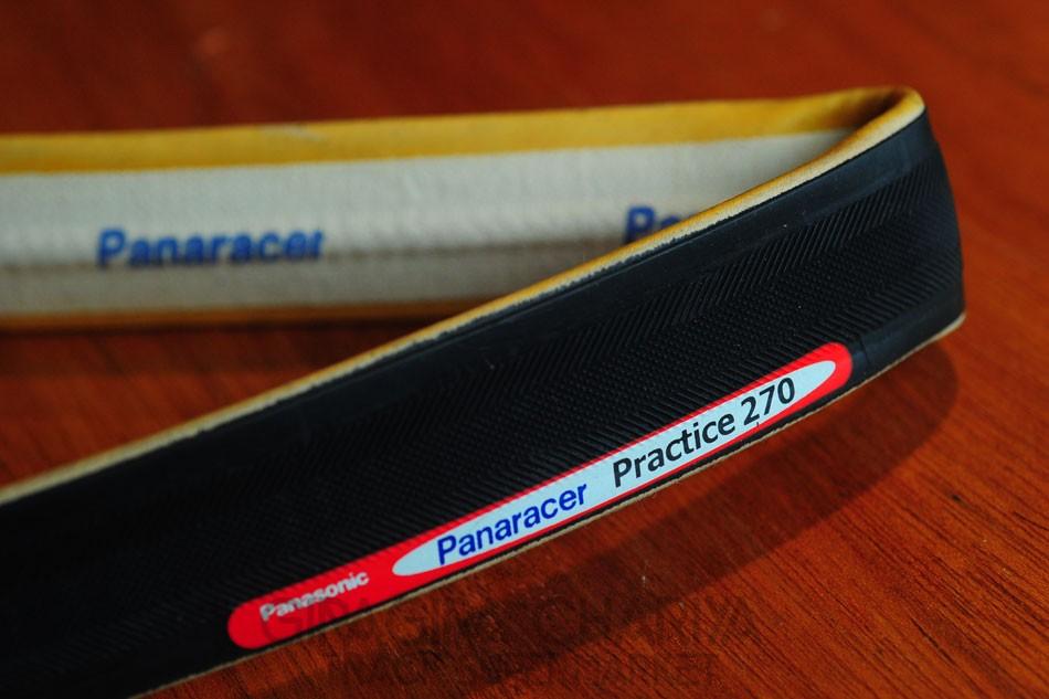 Panaracer Practice 270 Tubular Tire 700c - Black