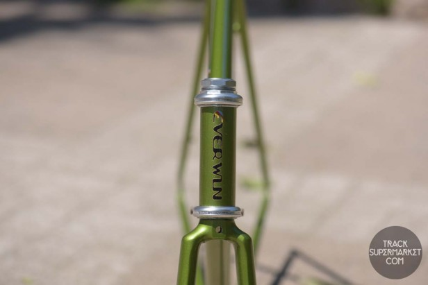 Everwin - Olive green w/ gold flake - 49 cm - Pursuit Road Frame