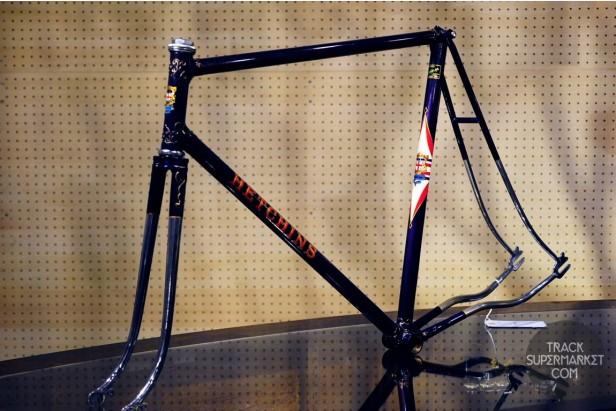 Hetchins - Purple w/ Chrome - 57.5 cm - Path Racer Frame