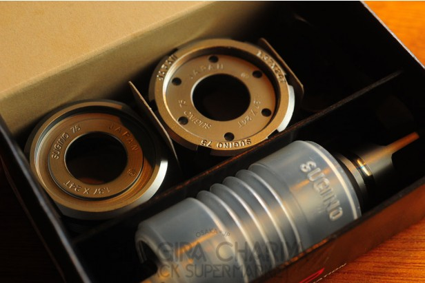 Sugino 75 Super Lap Track Bottom Bracket Set (NJS)