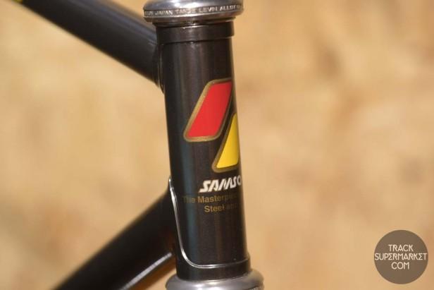 Samson - Chrome Gunmetal - 51 CM - NJS Track Frame