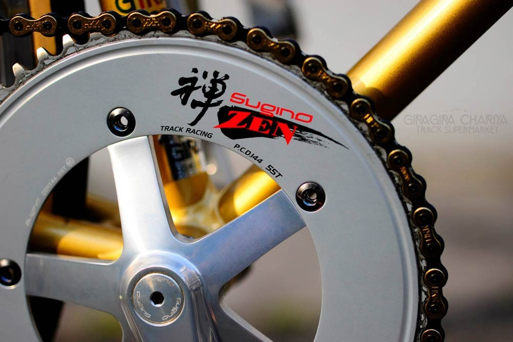 Sugino Zen Track Racing Chainring Njs Chainrings Cranks