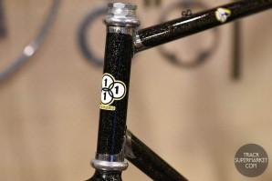 3Rensho - Black w/ Gold Sparkles - 57 cm - Track Frame