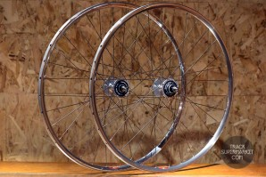 Araya Aero 2 Track Bike Complete Wheel Set - Pair (Front/Rear)