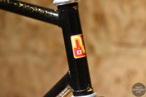 Nagasawa - Black / Gold Flake - 56 cm - NJS Track Frame