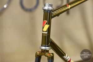 Samson - Chrome w/ Gold - 55.5 cm - Track Frame