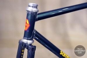 Samson- Green w/ Chrome - 49.5 cm - Track Frame