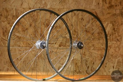 Araya Aero 1 Track Bike Complete Wheel Set - Pair Front/Rear