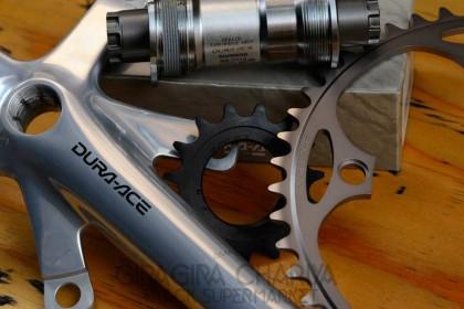 Shimano 7710 Track Drivetrain - complete set