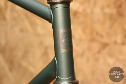National - Teal w/ Chrome fork - 53 cm - Track Frame