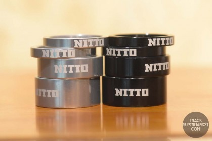 "Nitto Alloy Ahead 1 1/8"" Spacer Set"