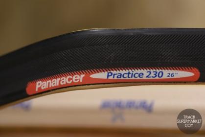 Panaracer Practice 230 Tubular Tire - Black - 650c