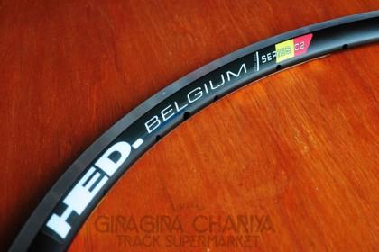 HED - Belgium Black 700c Rim 32H - Black