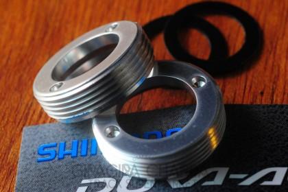 Shimano Dura Ace 7710 crank dust cap set