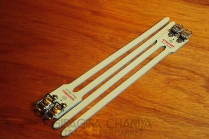 Kashimax 'Dual Sprint' Double Pedal Straps (NJS)