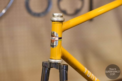 Tony Dash - Yellow w/ Chrome - 52 cm - Vintage Track Frame