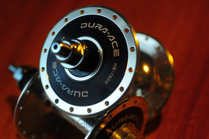 Shimano Dura Ace HB-7600 Track Hubs 32H
