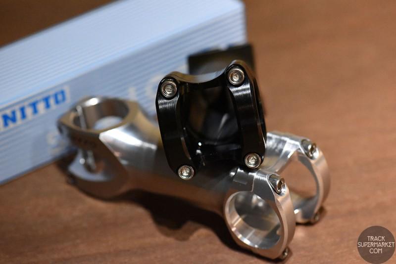 Nitto UI-25 CNC 1-1/8'' Ahead Stem (31.8mm Clamp Diameter)