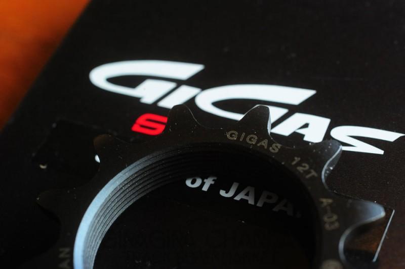 Sugino Gigas Track Cog - 12T (NJS)