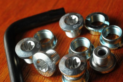 Sugino crank/chainring bolt set (5 pin)