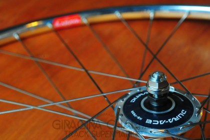 Araya Gold 16B NJS Tubular Complete Wheel build - Front+Rear