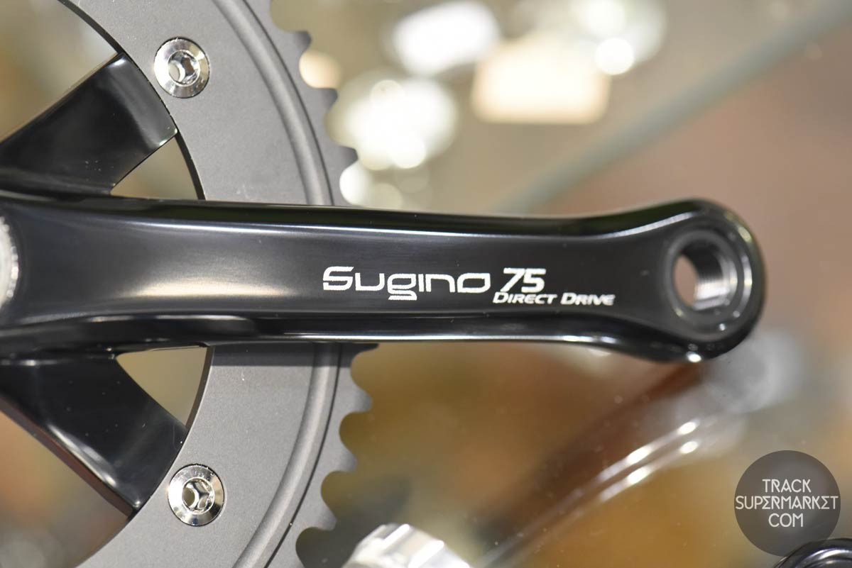 Sugino 75 Dd Track Racing Crank Set Direct Drive Black