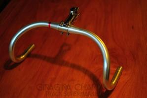 NItto B123AA Track Drop Handlebar - Aluminium - 31.8mm